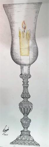 Nuevos candelabros y jarras del palio de Vera Cruz