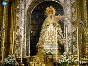 Virgen de la Esperanza Macarena en la época estival // Carlos Iglesia