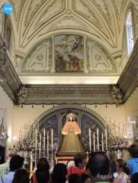 Virgen del Rocío en la parroquia de la Asunción // Ángela Vilches