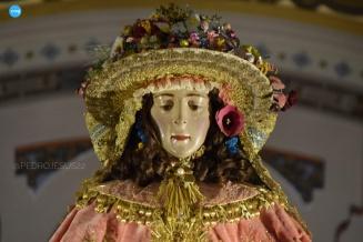 Virgen del Rocío en la parroquia de la Asunción // Pedro Huertas