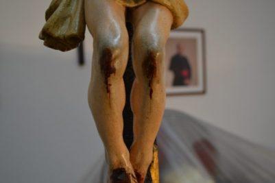 Restauración crucificado de la Candelaria