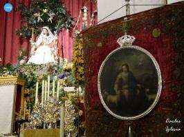 Novena de la Divina Pastora de Santa Marina, con el simpecado de la Corona Seráfica // Carlos Iglesia