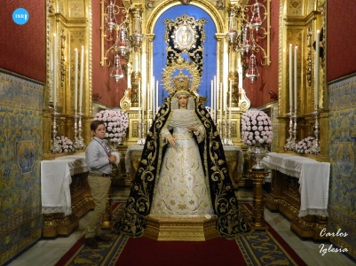 Virgen del Dulce Nombre // Carlos Iglesia