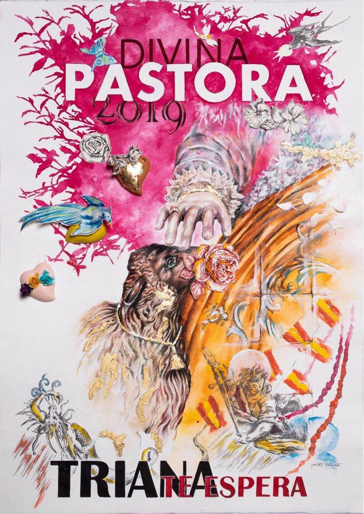 Cartel Divina Pastora Triana