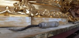 Restauración del canasto de la Lanzada