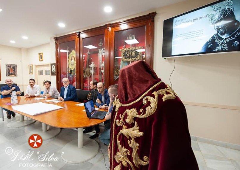 Clámide del Señor de la Salud y Buen Viaje de San Esteban