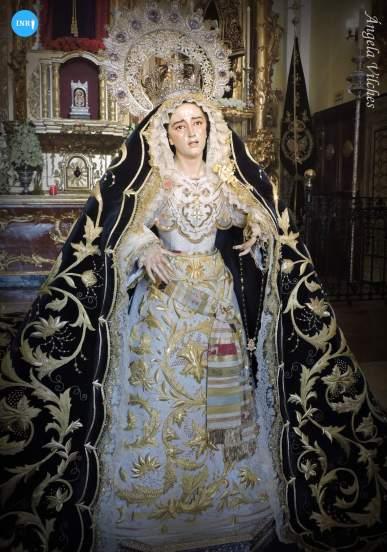 Virgen de los Dolores y Misericordia de Jesús Despojado // Ángela Vilches