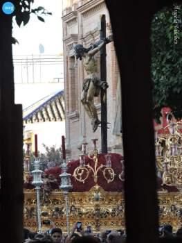 Salida extraordinaria del Cristo de la Sed // Ángela Vilches