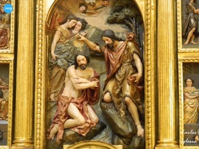 Retablo de la Anunciación de Montañés // Carlos Iglesia