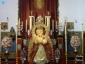 Virgen del Rosario del Barrio León // Carlos Iglesia