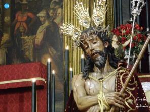 Besapiés al Cristo de la Coronación de Espinas del Valle // Carlos Iglesia