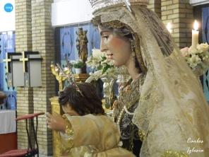 Besamanos a la Virgen del Carmen de San Pablo // Carlos Iglesia