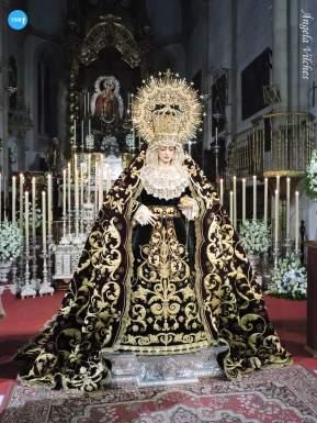 Besamanos de la Virgen de Gracia y Amparo de los Javieres // Ángela Vilches