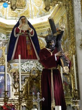 Virgen de las Angustias de los Gitanos de hebrea // Carlos Iglesia