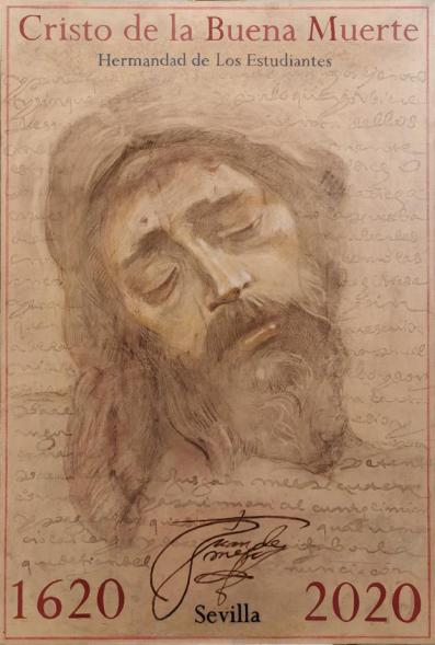 Cartel del 400.º aniversario del Cristo de la Buena Muerte de los Estudiantes