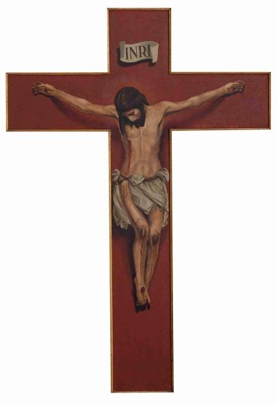 Pintura de Francisco Maireles del Cristo de la Buena Muerte de los Estudiantes