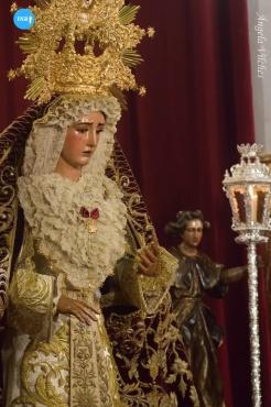 Besamanos a la Virgen de la O // Ángela Vilches