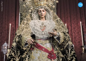 Besamanos de la Virgen de Gracia y Esperanza de San Roque // Ángela Vilches