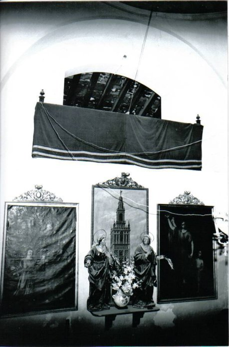 foto antigua conjunto Santas de las Aguas