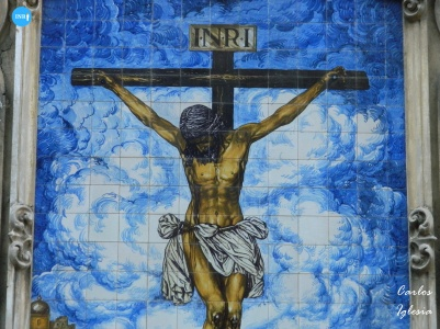 Azulejo del Cristo de la Buena Muerte de los Estudiantes // Carlos Iglesia
