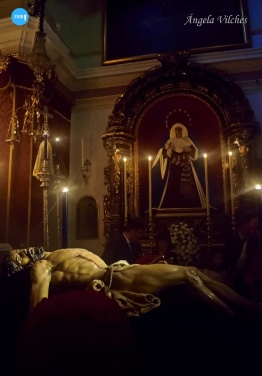 Besapiés al Cristo de la Misericordia del Baratillo // Ángela Vilches