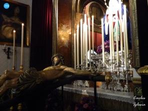 Besapiés al Cristo de las Cinco Llagas de la Trinidad // Carlos Iglesia
