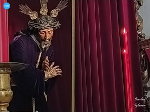 Besapiés a Jesús Nazareno de la O // Carlos Iglesia