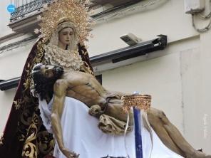 Traslado de la Virgen de la Piedad y Cristo de la Misericordia del Baratillo // Ángela Vilches