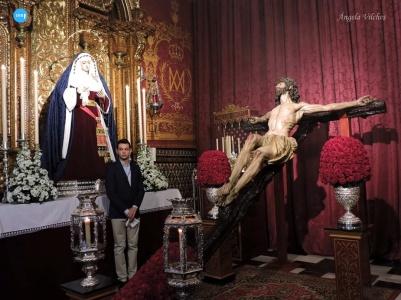 Besapiés al Cristo de la Salud de Monte-Sión // Ángela Vilches