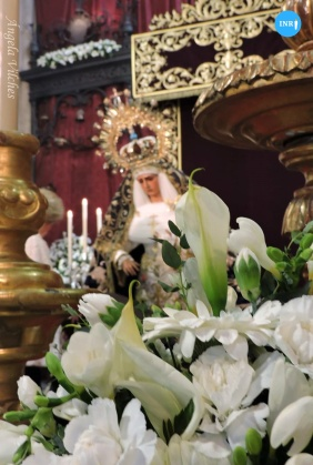 Besamanos de la Virgen de la Hiniesta // Ángela Vilches