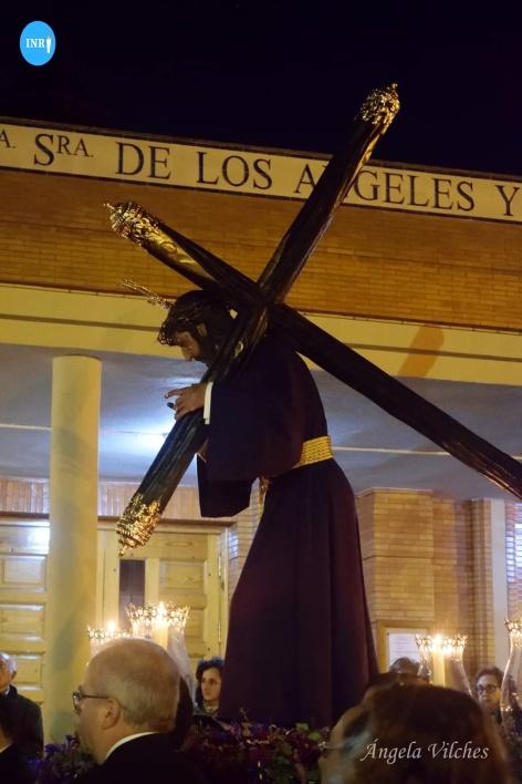 Viacrucis del Señor de la Humildad de la Espiga de Sevilla Este // Ángela Vilches