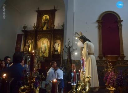 Besapiés al Señor del Soberano Poder ante Caifás de San Gonzalo // Ángela Vilches