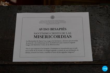 Besapiés al Cristo de las Misericordias de Santa Cruz // Jesús Elías