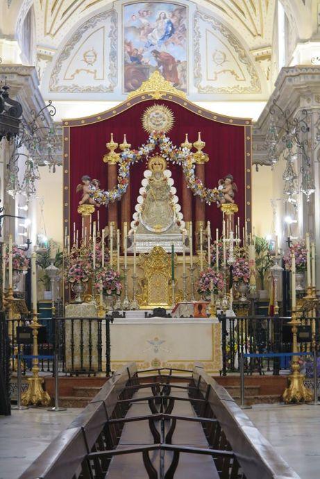 Novena de la Virgen del Rocío en Almonte