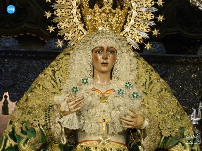 Titulares de la Macarena tras el desconfinamiento // Carlos Iglesia
