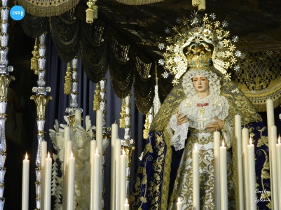 Virgen de los Ángeles de los Negritos en el primer aniversario de su coronación // Carlos Iglesia