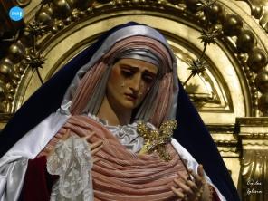 Paso de palio y titulares de la Exaltación // Carlos Iglesia