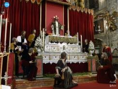 Altar de triduo de la Cena // Carlos Iglesia