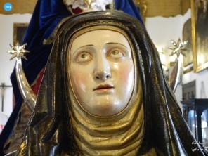 Busto relicario de Santa Teresa del Santo Ángel // Carlos Iglesia