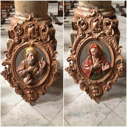 Relieves de la parroquia de San Nicolás