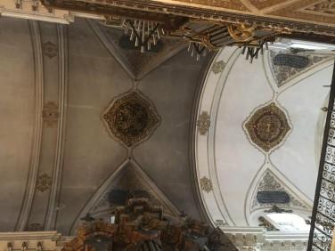 Restauración coro alto Magdalena