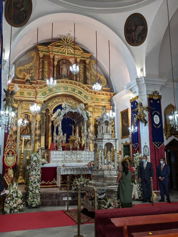 Virgen de Aguas Santas de Villaverde del Río