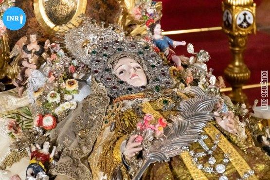Virgen del Tránsito del Santo Ángel // Luis Selvático