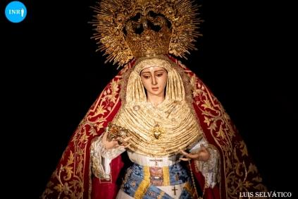 Veneración a la Virgen de los Dolores de San José Obrero // Luis Selvatico