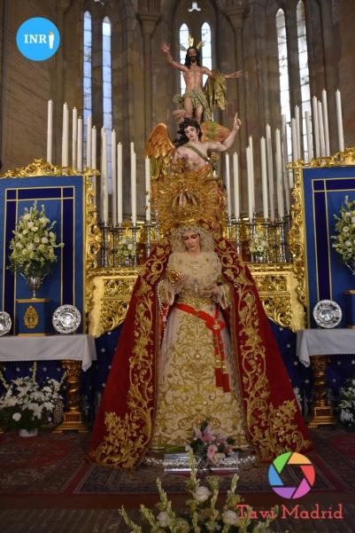 Veneración de la Virgen de la Aurora de la Resurrección // Miguel D'herbe