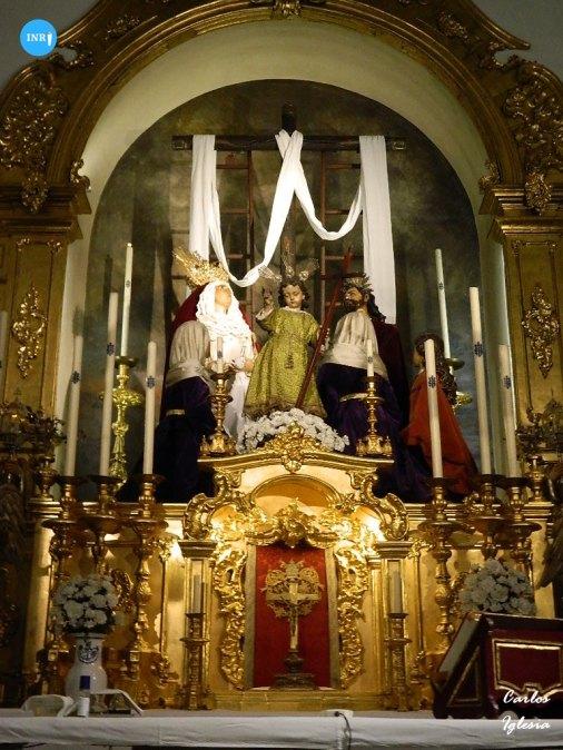 Misterio de la Quinta Angustia sin el Cristo del Sagrado Descendimiento // Carlos Iglesia