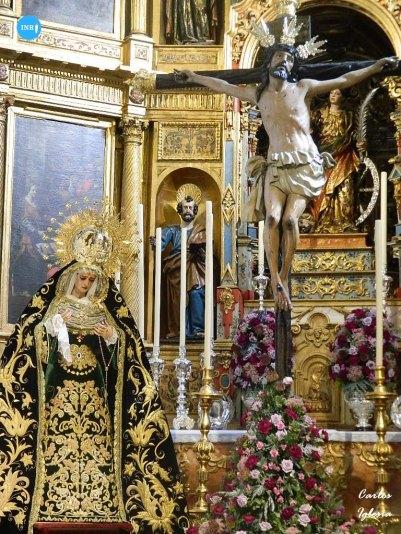 Función del Cristo de la Exaltación y la Virgen de las Lágrimas de la Exaltación // Carlos Iglesia