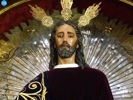 Señor de la Redención y la Virgen del Rocío en San Ildefonso // Carlos Iglesia