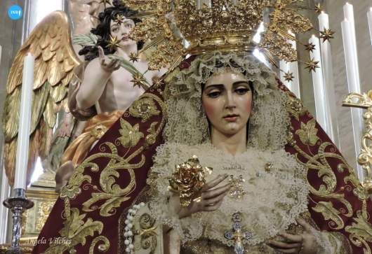 Veneración de la Virgen de la Aurora de la Resurrección // Ángela Vilches