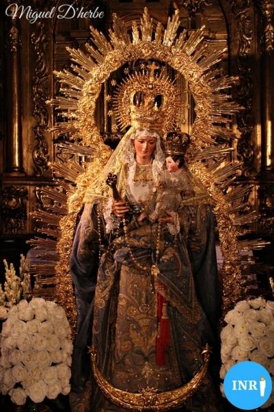 Veneración a la Virgen de la Luz // Miguel D'herbe